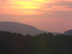 Appalachian Sunset TL Stock Footage