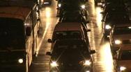 Night car traffic  Stock Footage