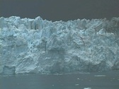Glacier Calvitating Tower Stock Footage
