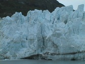 Glacier Tower Falls Stock Footage