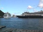Juno Harbor with Planes Stock Footage