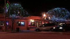 Christmas Lights Stock Footage