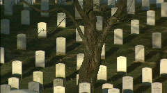 Arlington Zoom out Stock Footage