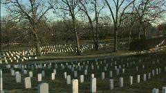 Arlington zoom to stones Stock Footage