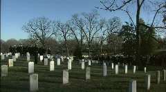 Establish with Graves Stock Footage