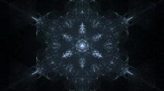 Snow crystal Stock Footage