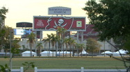 Stock Video Footage of Raymond James Stadium - Home Of SuperXLII