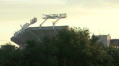 Raymond James Stadium - Home Of SuperXLII - stock footage