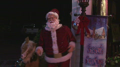 Dancing Santa Stock Footage