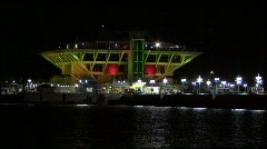 The St Pete Pier At Night 02 Stock Footage