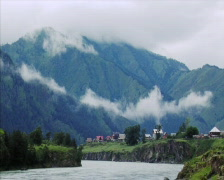 Mountain village 005 Stock Footage