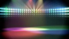 Disco lights loop Stock Footage