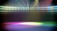 Stock Video Footage of disco lights loop