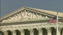 Supreme Court CU Equal Justice Stock Footage