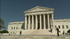 Supreme Court Winter Stock Footage