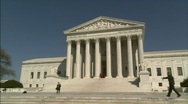 Stock Video Footage of Supreme Court Winter