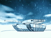Winter Tank Stock Footage