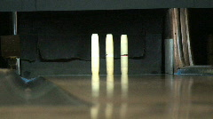 Candle Stick Bowling Spare Stock Footage