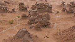 Goblin Valley State Park – Zoom Out Stock Footage