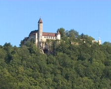 Castle Teck Stock Footage