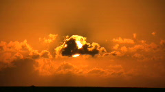 Sunset 07 TW HS Stock Footage