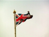 Union Jack Gray (PAL) Stock Footage