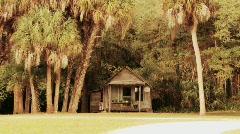Jungle house Stock Footage