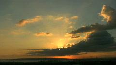 Sunset Sky01 HD Stock Footage