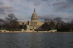 US Capitol - 3 Shots Stock Footage