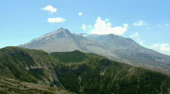 Mount St. Helens (pan) Stock Footage