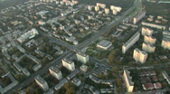 City aerial 4 Stock Footage