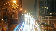 View of the BQE in Brooklyn Ny Stock Footage