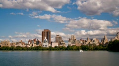 Central Park Skyline - NYC HD time lapse Stock Footage
