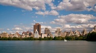 Stock Video Footage of Central Park Skyline - NYC HD time lapse
