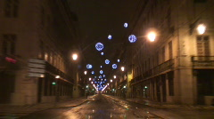 Rossio natal Stock Footage