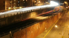 Tiers of traffic - DUMBO, NYC 2 views Stock Footage