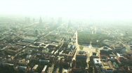 Stock Video Footage of Warsaw aerial 2.mov