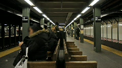 NYC Subway Stock Footage