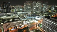 Clean Sharp Tokyo from Above - HD timelapse Stock Footage