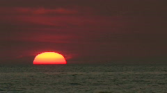Sanibel Sunset Sequence 01 Stock Footage