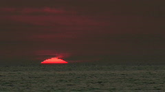 Sanibel Sunset Sequence 04 Stock Footage