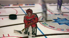 hockey toy - stock footage