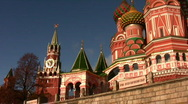 Stock Video Footage of Tower. Church. Panning. October 10 2008 in Moscow Russia.