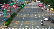 Taipei traffic timelapse Stock Footage
