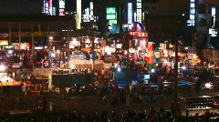 Stock Video Footage of Asian night market