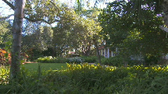 Coral Gables house Stock Footage