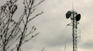 Country Communication Tower Stock Footage