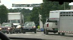 Welcome Alumni Stock Footage