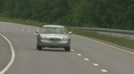 On The Road Stock Footage