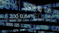 Stock Video Footage of Stock Market Animation